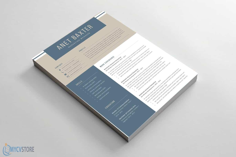 Marketing Resume Word Template