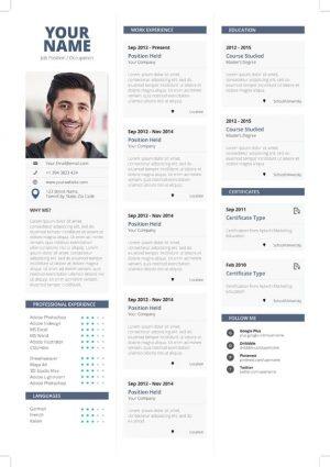 Clean Simple Resume Template