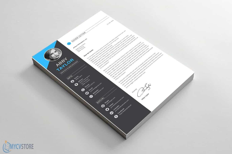 Elegant Designer Cover Letter