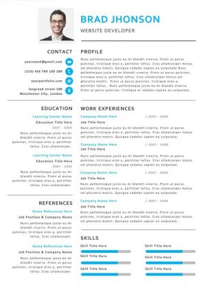 Creative Professional Resume Template