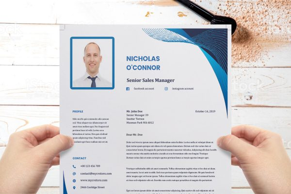 Bold Cover Letter Word Format