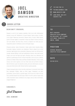 Cover Letter Manager Template