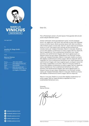 Career Cover Letter Template