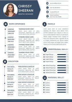 Exemple De CV Élégant