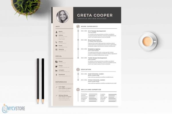 Super Clean Resume Template