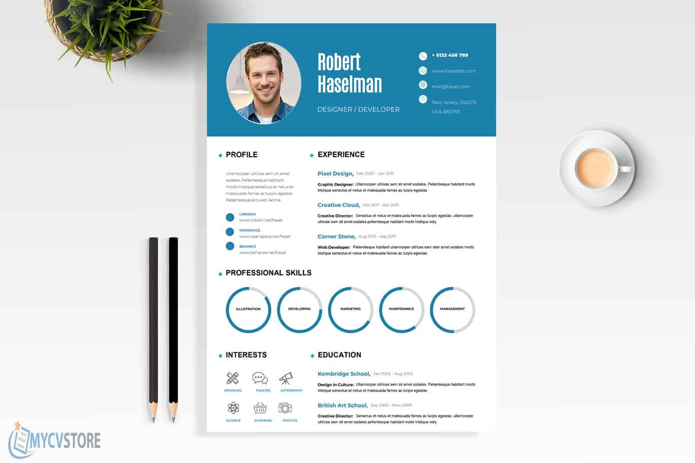 Employment Resume Template