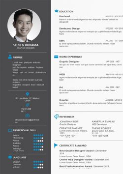 Clean Design Resume Template