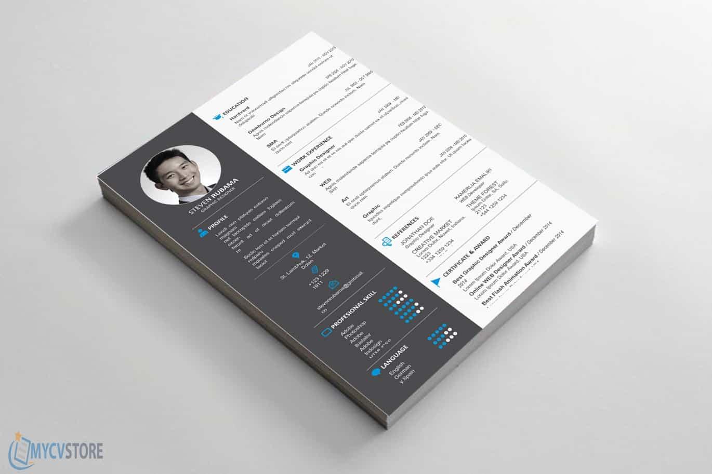 Clean Design Resume Template