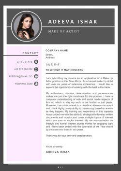 Artist Cover Letter Template