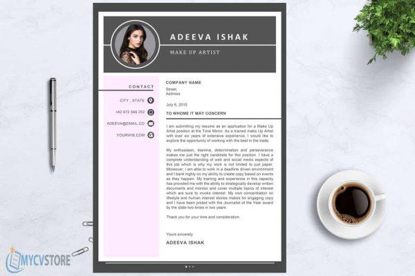 Artist Cover Letter