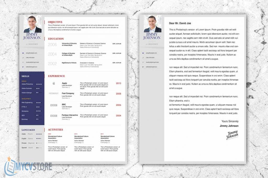 CV Assistant Chef de Projet