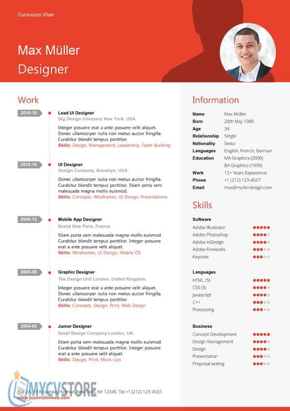 Exemple de CV Manager à Télécharger au Format Word | MyCVStore