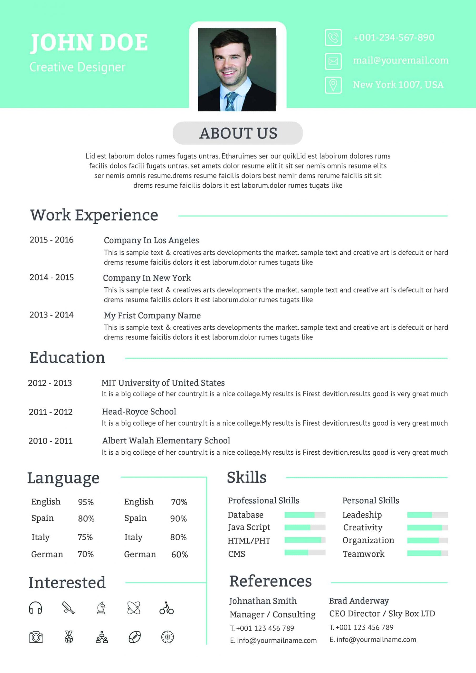 Exemple CV Assistant Chef de Projet à Télécharger au ...