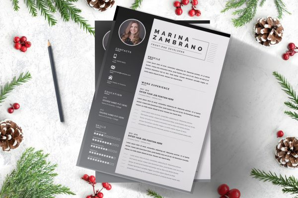 Resume Example to Work On