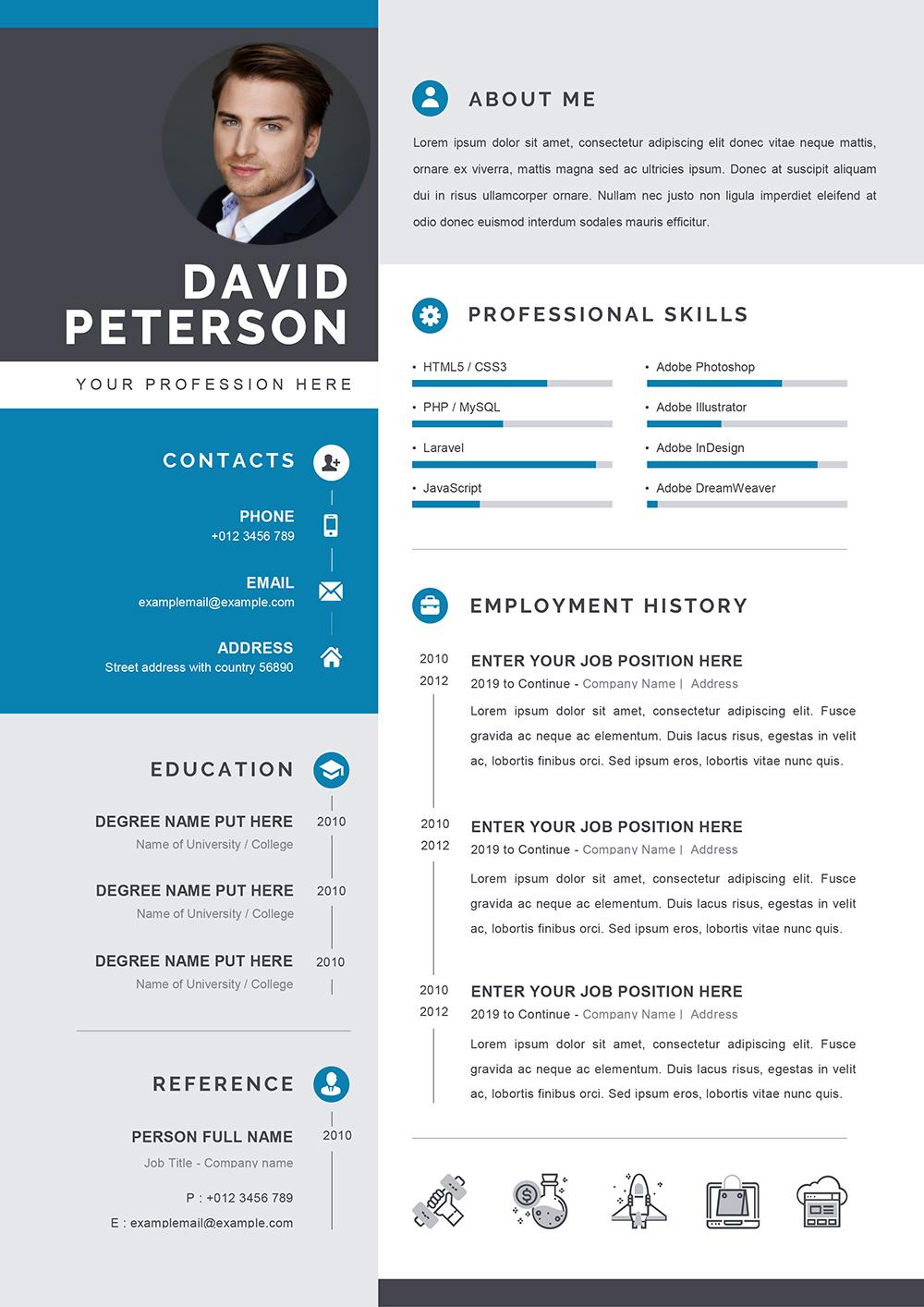 Exemple de CV Académique Format Word à Télécharger
