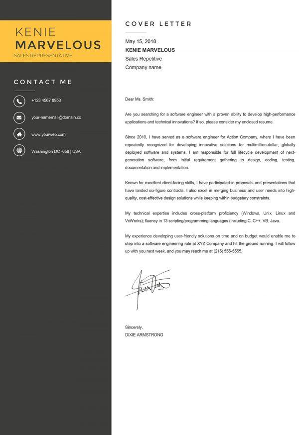 Sample Cover letter Word Foramat Nurse