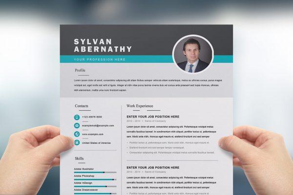 CV Design word format to Download