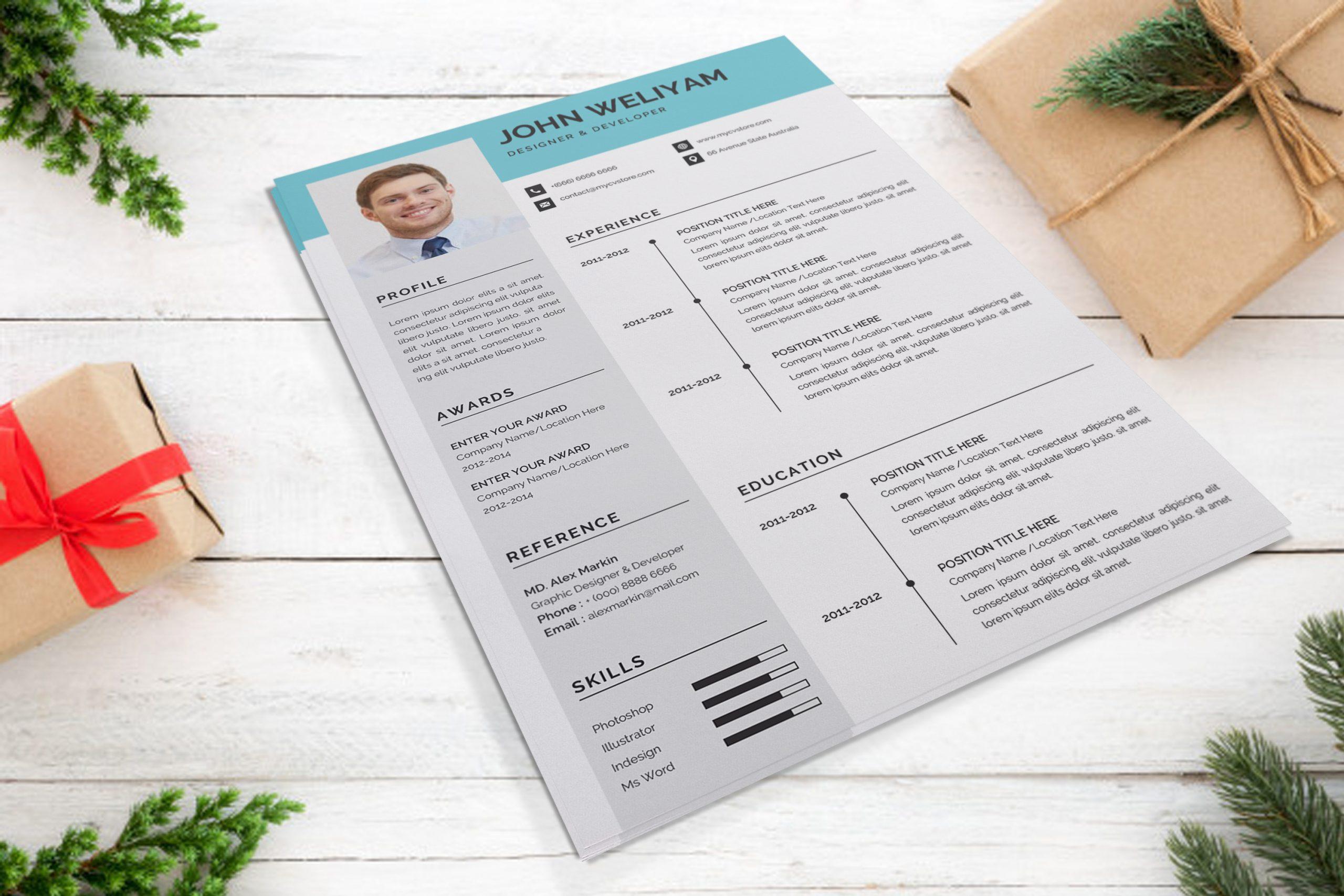 Resume Sample Template