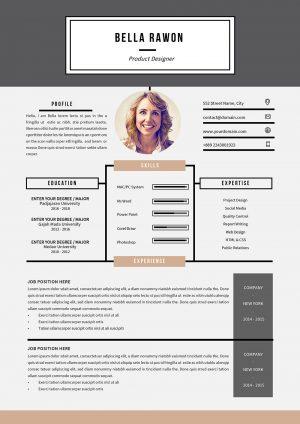 Modèle de CV Microsoft Word